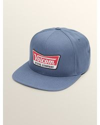 b18b9d584a9 Lyst - Volcom Cresticle Mens Snapback Hat in Blue for Men