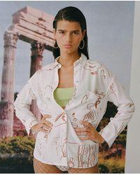 Paloma Wool Misa Shirt / Off White