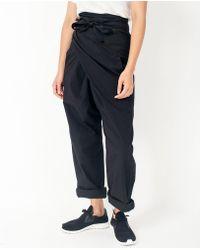 Cosmic Wonder - Wrap Trouser / Black - Lyst