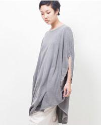Cosmic Wonder - Circle Dress / Eco Black - Lyst