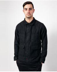 Apolis - Coated Chore Jacket / Black - Lyst