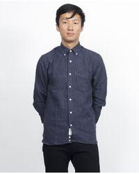 Apolis - Linen Button Up - Lyst