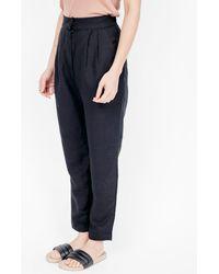 First Rite - Narrow Trouser / Black - Lyst