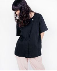 wrk-shp - Folded Box Top / Black - Lyst