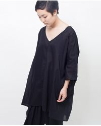Ali Golden - Aligolden Kimono Tunic / Black - Lyst