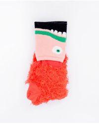Henrik Vibskov - Monster Socks / Monster - Lyst