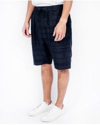 Chapter - Crater Shorts / Black Stripe - Lyst