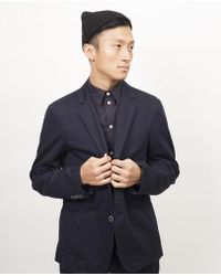 General Assembly - Washed Chino Blazer - Navy - Lyst