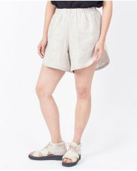 Priory Of Ten - Kaee Shorts / Sand - Lyst