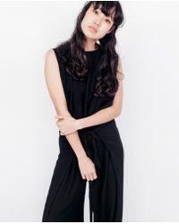 Shaina Mote - Soleri Jumpsuit / Onyx - Lyst