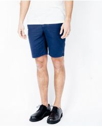 Norse Projects - Aros Shorts / Navy - Lyst