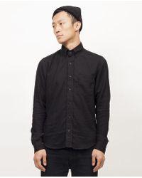 Dillon Montara - Phantom Black Longsleeve Shirt - Lyst