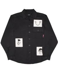 Rassvet (PACCBET) Rassvet (paccbet) Printed Patches Shirt - Black