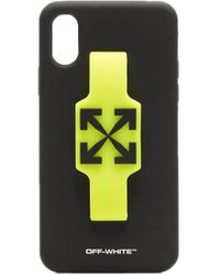 Off-White c/o Virgil Abloh Iphone Xs Case - Black