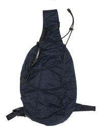 C P Company Blue Backpack