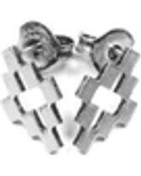 Marcelo Burlon Orecchini Cross - Metallizzato