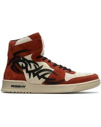 MISBHV Court Sneakers - Red