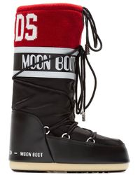 Gcds Classic Icon Moon Boot - Black
