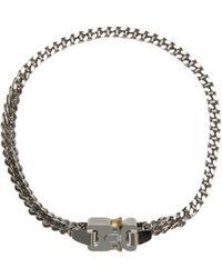 1017 ALYX 9SM Collana Cubix Chain - Metallizzato