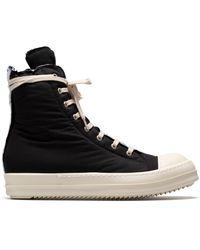 Rick Owens DRKSHDW Sneakers alte imbottite - Nero