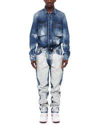 Off-White c/o Virgil Abloh Carpenter Jumpsuit - Blue