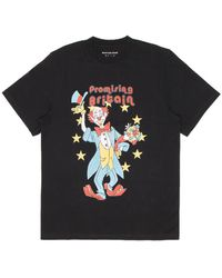 Martine Rose Clown Tee - Black