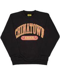Chinatown Market Gym Arc Sweatshirt - Black