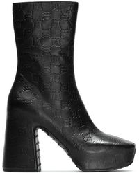 MISBHV The Pop Platform Monogram Boots - Black