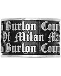 Marcelo Burlon - Gothic Ring - Lyst