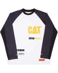 Heron Preston Cat Raglan Power Ls Tee - Black