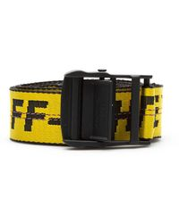Off-White c/o Virgil Abloh Industrial Belt - Yellow