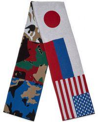 Gosha Rubchinskiy - Flag Scarf - Lyst