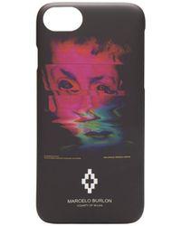 Marcelo Burlon Cover iPhone 8 Deformed Child - Nero