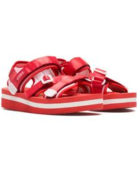 Suicoke Kisee-vpo Sandals - Red