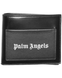 Palm Angels Iconic Bifold Wallet - Black