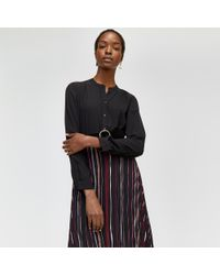 Warehouse - Button Back Blouse - Lyst