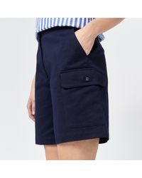 Warehouse - Knee Length Shorts - Lyst