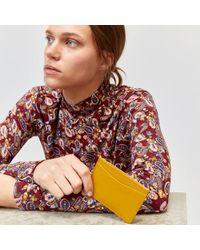 Warehouse Leather Card Holder - Multicolour