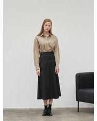 NILBY P - Unbalanced Full Skirt - Lyst