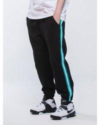 MAHAGRID Line Jogger Sweatpants Black