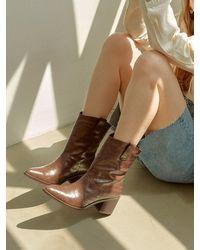 Intense Clothing Feminine Western Ankle-boots 6cm - Black
