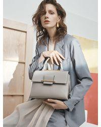 Joy Gryson Gigi Satchel Bag Lw0sb1620 - Gray