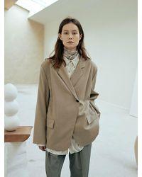 OUI MAIS NON Munchen Wool Jacket - Natural