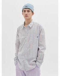 WKNDRS Striped Star Shirt (s Blue)