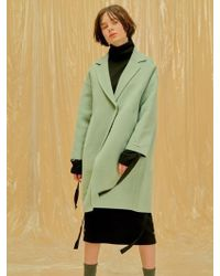 1159 STUDIOS - Handmade Single Coat_mint - Lyst