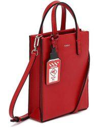 ROSA.K Cabas Tote Bag Xs - Red