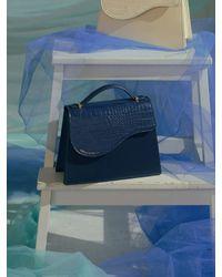 Simon Carter Bernie Tote Bag - Blue