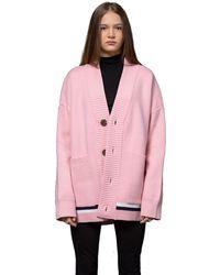 Heich Blade Line Iconic Cardigan - Pink