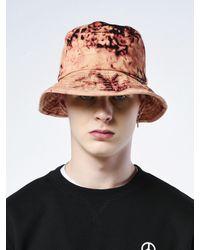 SHETHISCOMMA Bleached Bucket Hat Black