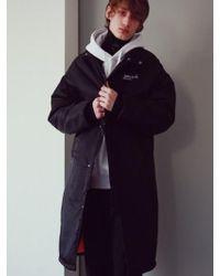 ANOUTFIT - [unisex] Signature Long Padded Jacket_black - Lyst